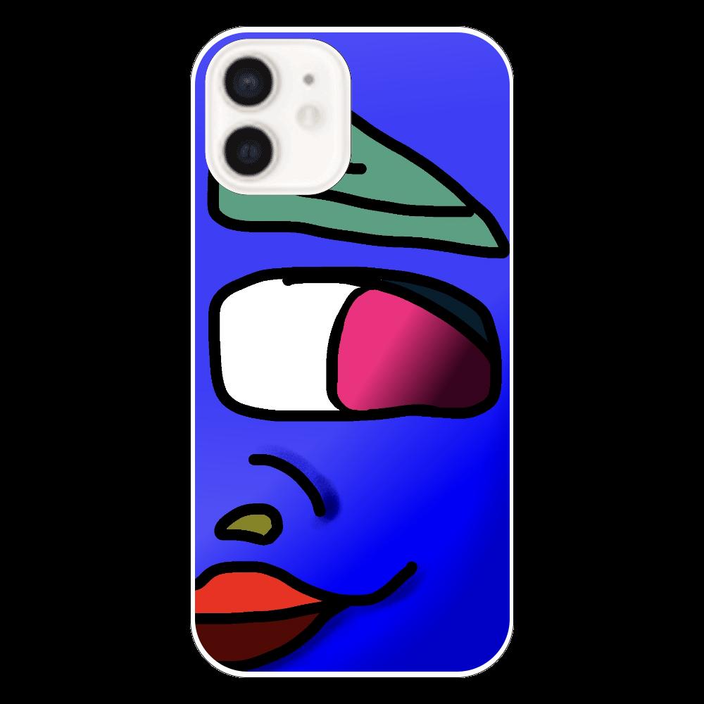 ワシヲ右 iPhone12(透明)