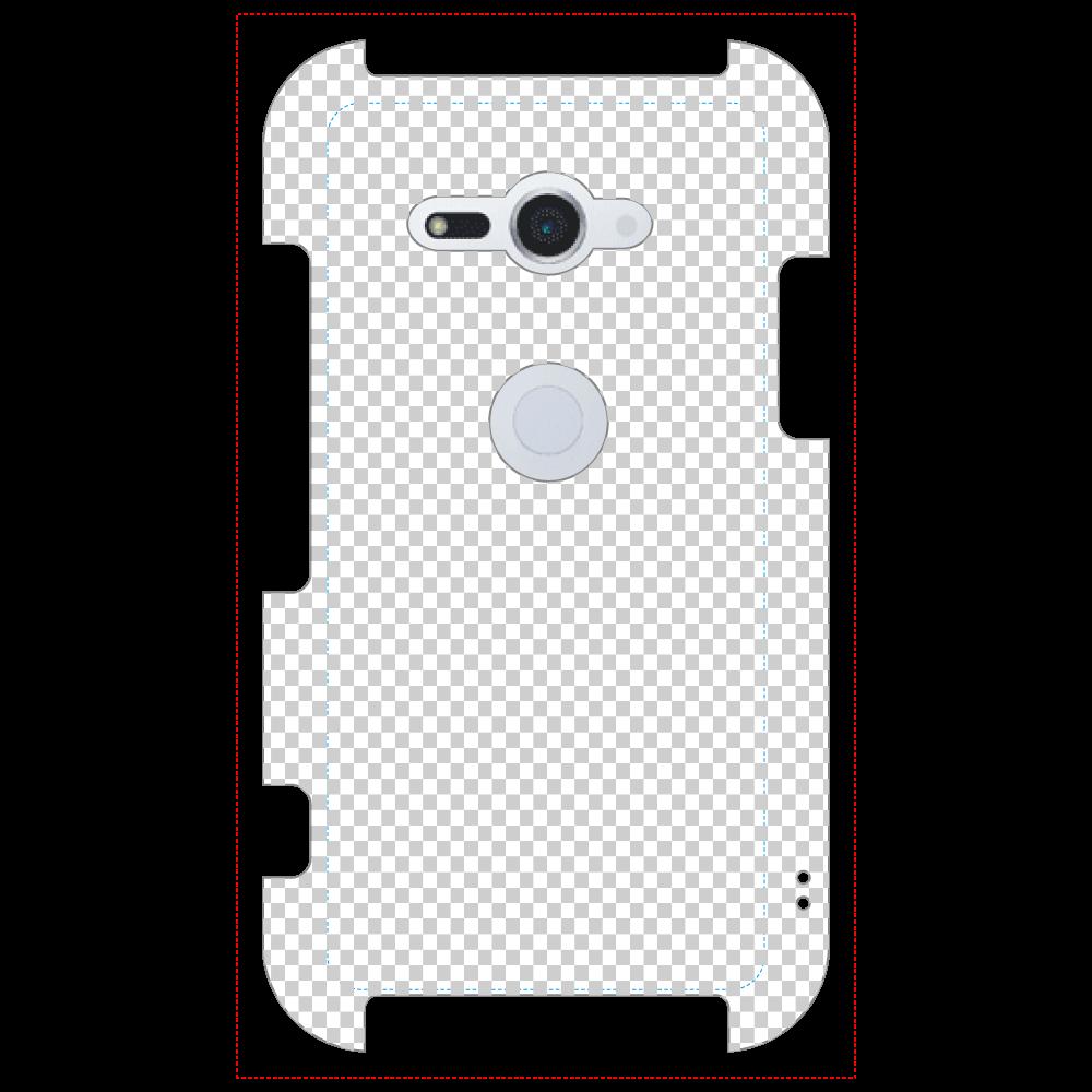 透過 Androidケース Xperia XZ2 Compact(SO-05K) Xperia XZ2 Compact(SO-05K)