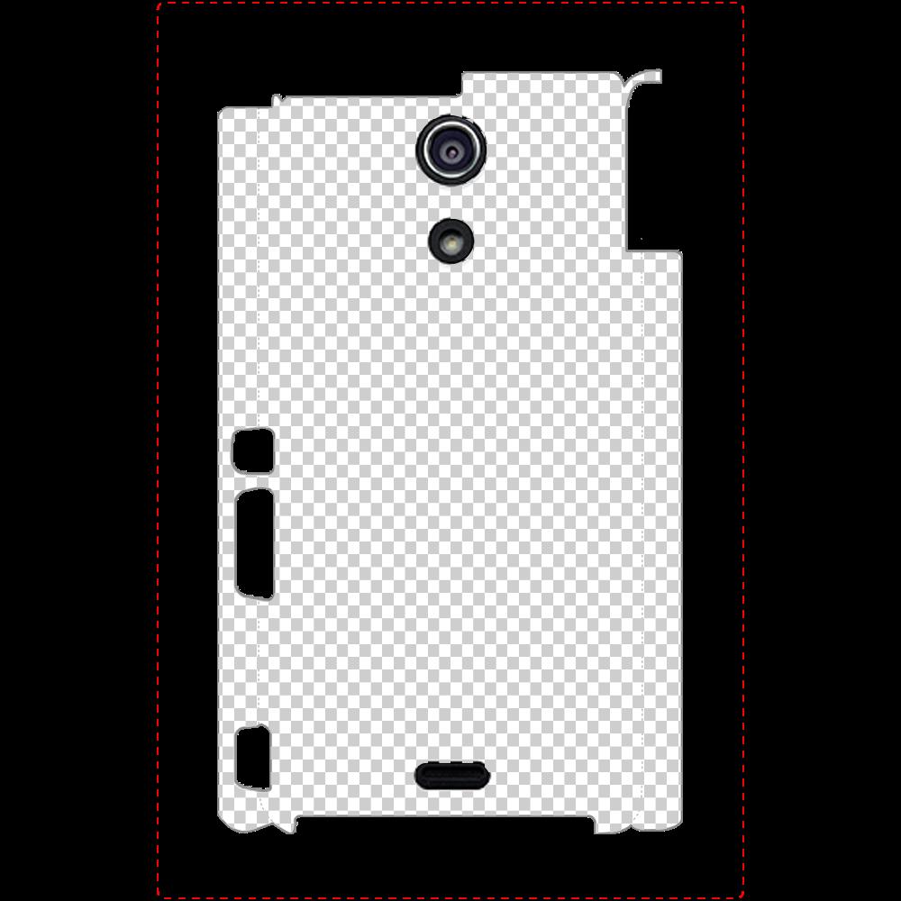 透過 Androidケース Xperia A(SO-04E) Xperia A(SO-04E)