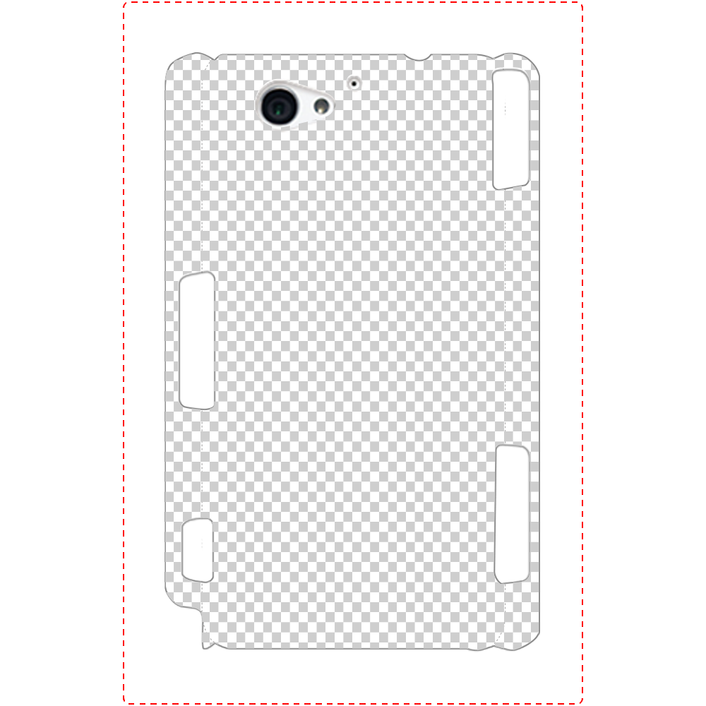 透過 Androidケース Xperia A2(SO-04F) Xperia A2(SO-04F)