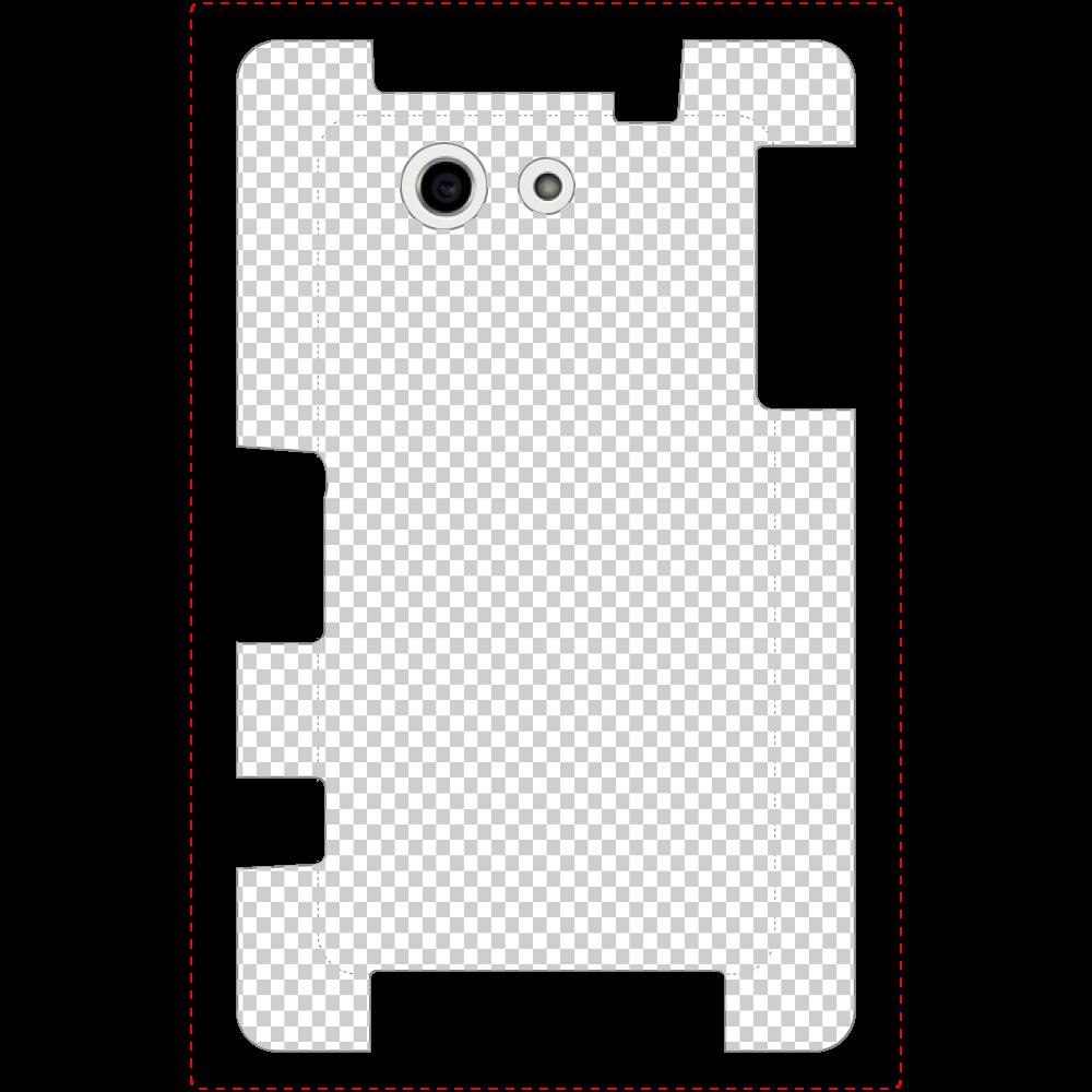 透過 Androidケース Xperia A4(SO-04G) Xperia A4(SO-04G)