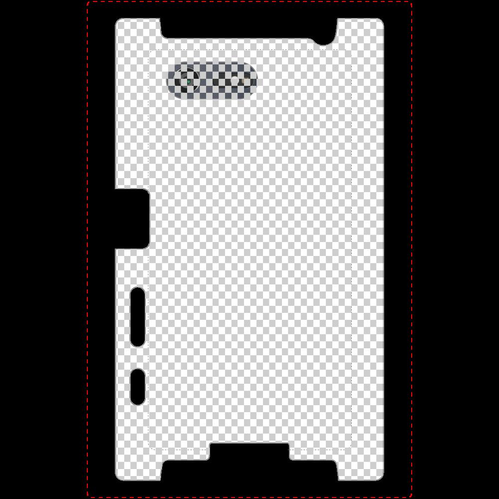 透過 Androidケース Xperia X Compact (SO-02J) Xperia X Compact (SO-02J)