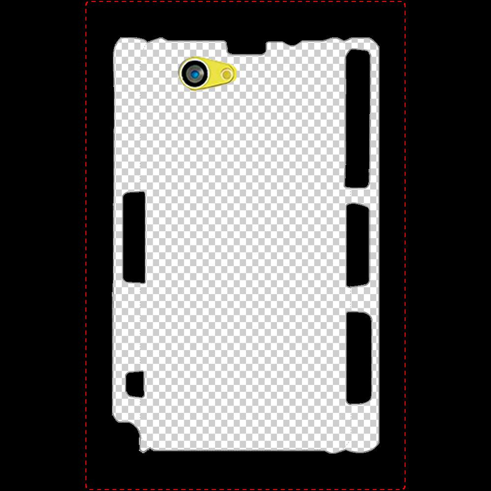 透過 Androidケース Xperia Z1f(SO-02F) Xperia Z1f(SO-02F)