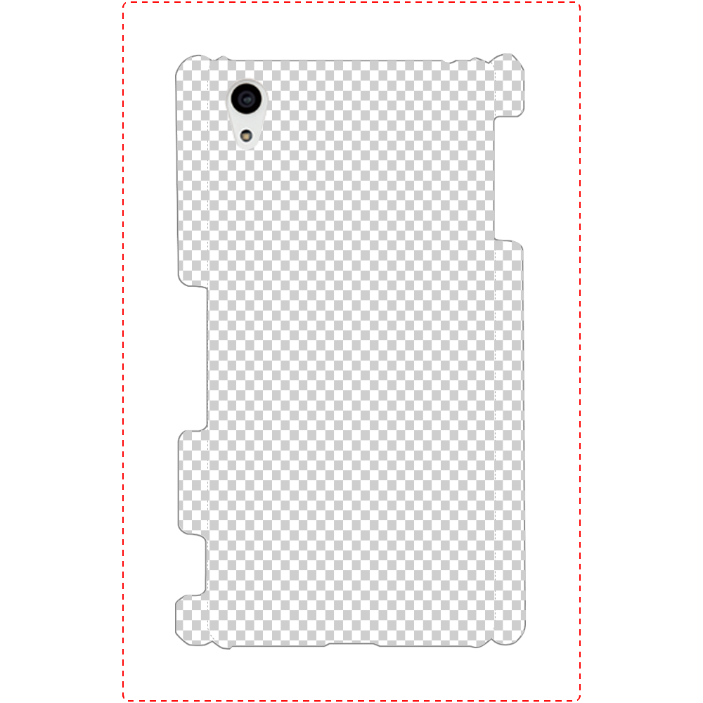 透過 Androidケース Xperia Z4(SO-03G/SOV31/402SO) Xperia Z4(SO-03G/SOV31/402SO)