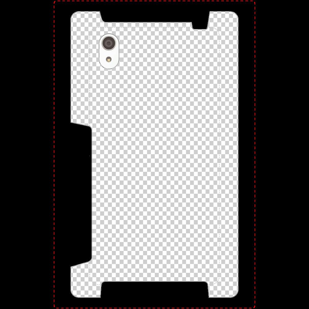 透過 Androidケース Xperia Z5 Premium(SO-03H) Xperia Z5 Premium(SO-03H)