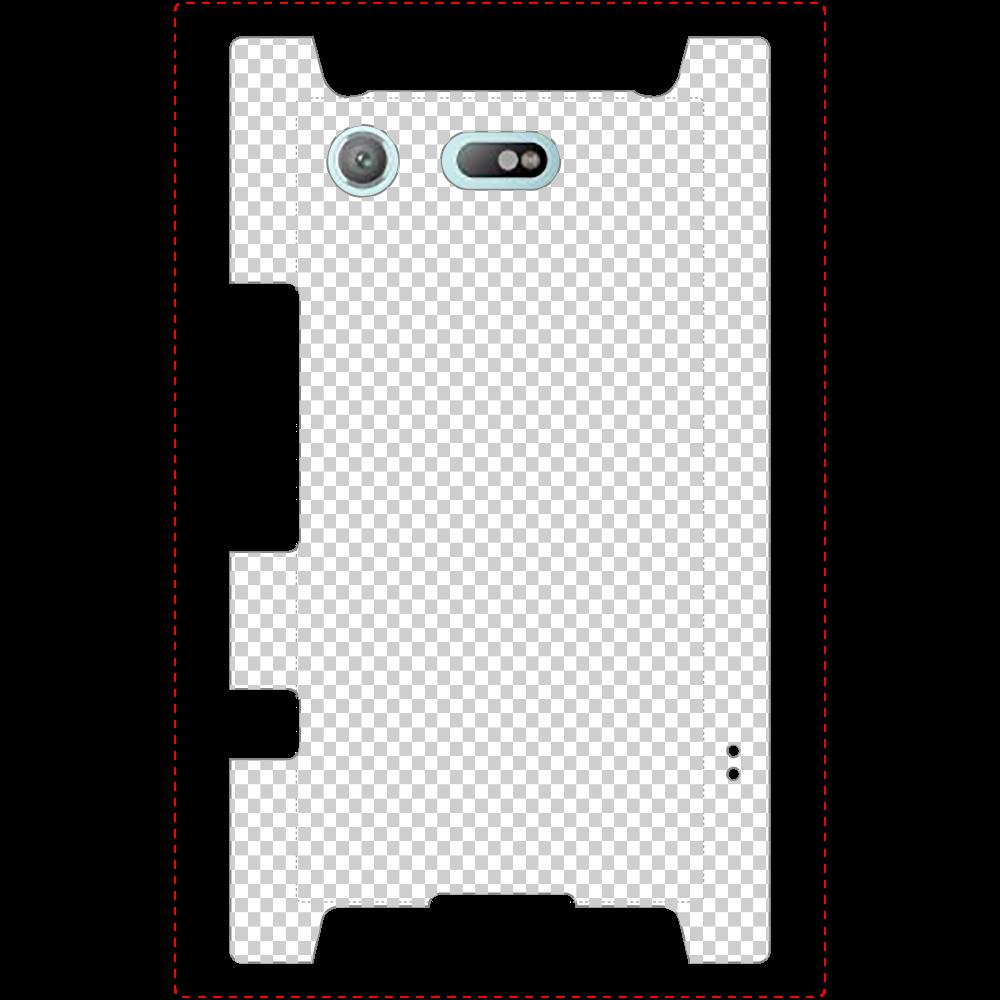 透過 Androidケース Xperia XZ1 Compact (SO-02K) Xperia XZ1 Compact (SO-02K)