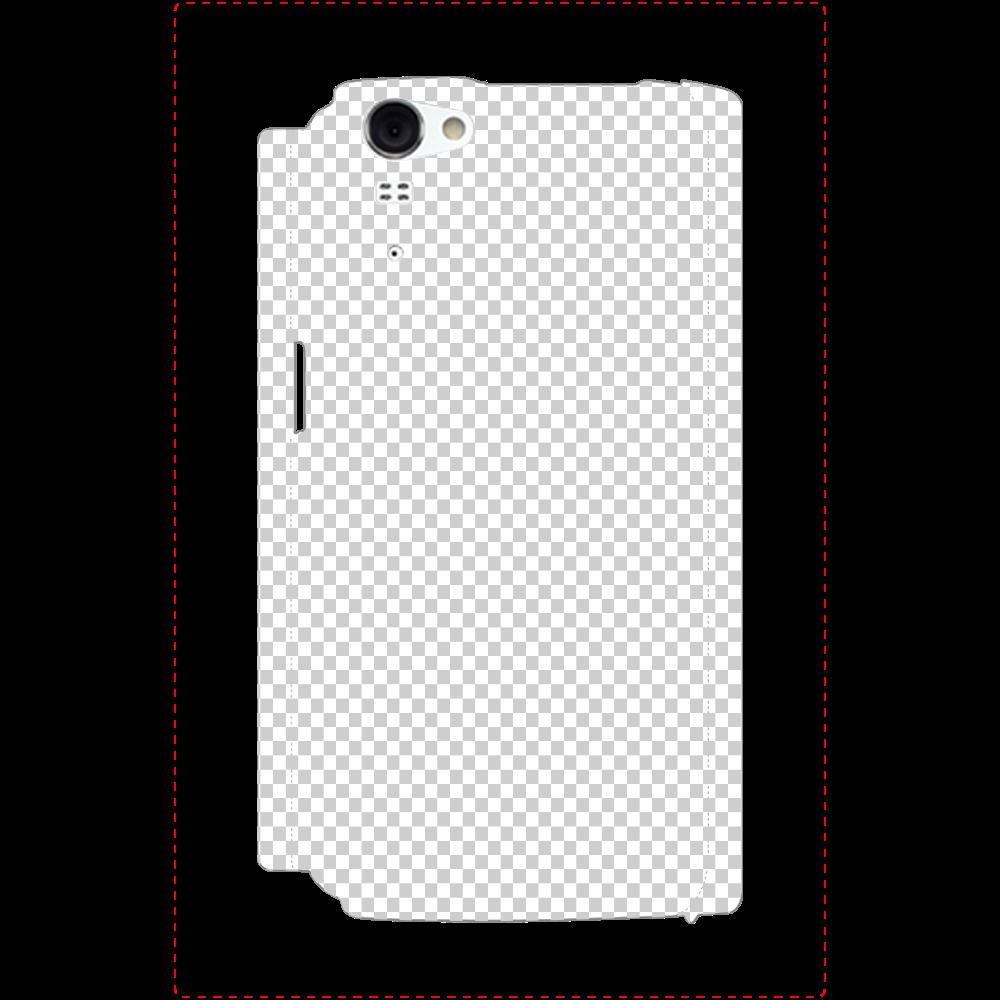 透過 Androidケース AQUOS PHONE ZETA(SH-01F) AQUOS PHONE ZETA(SH-01F)