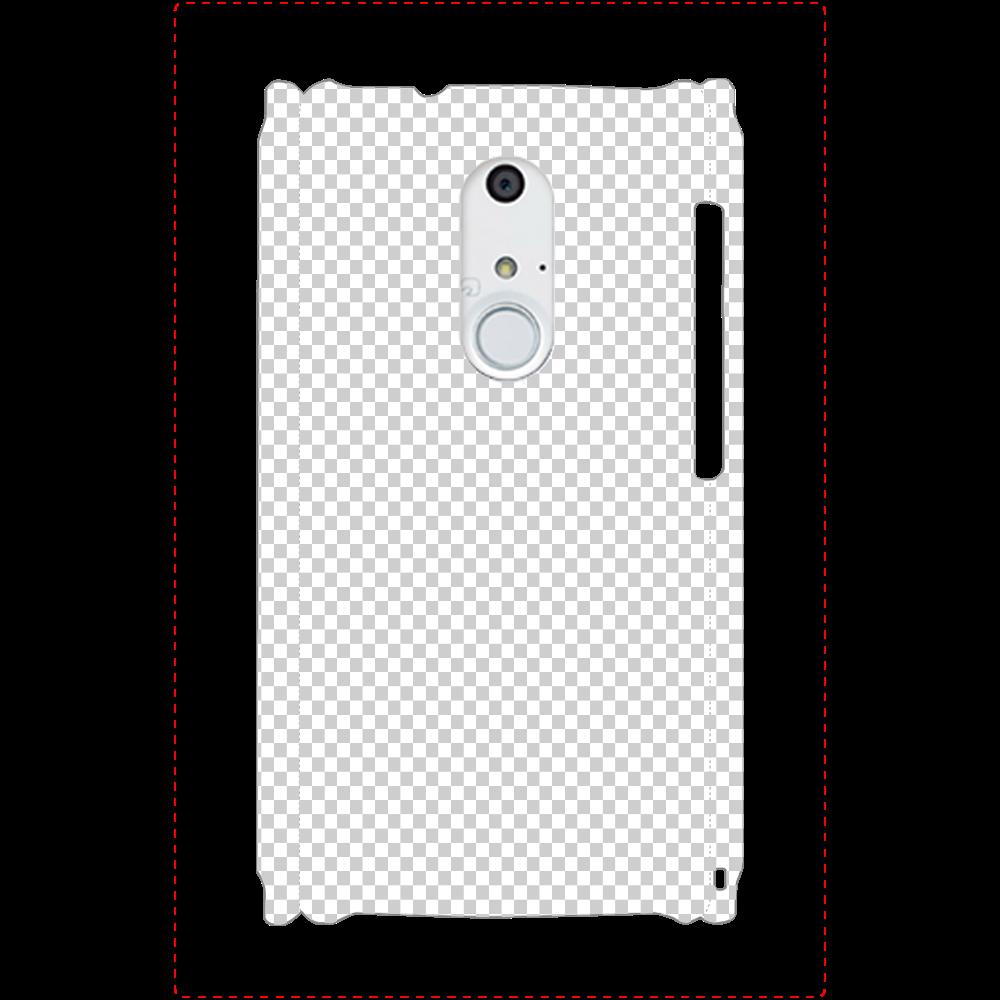 透過 Androidケース ARROWS NX(F-01F) ARROWS NX(F-01F)