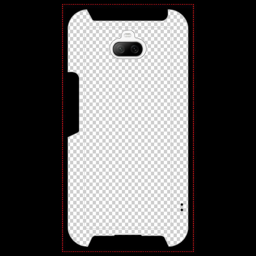 透過 Androidケース Xperia 8 全面印刷ケース Xperia 8 全面印刷ケース