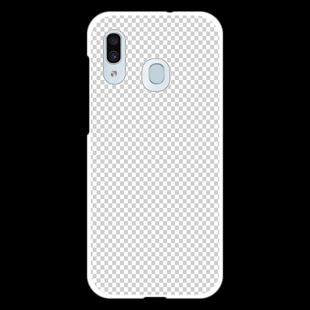 透過 Androidケース Galaxy A30 (SCV43) ハードケース Galaxy A30 (SCV43) ハードケース