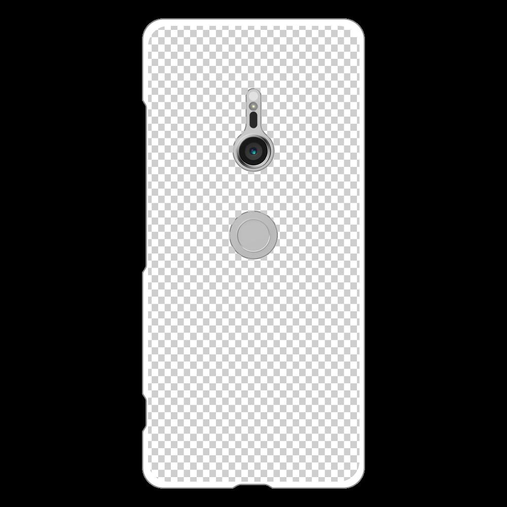 透過 Androidケース Xperia XZ3(SO-01L/SOV39/801SO) Xperia XZ3(SO-01L/SOV39/801SO)
