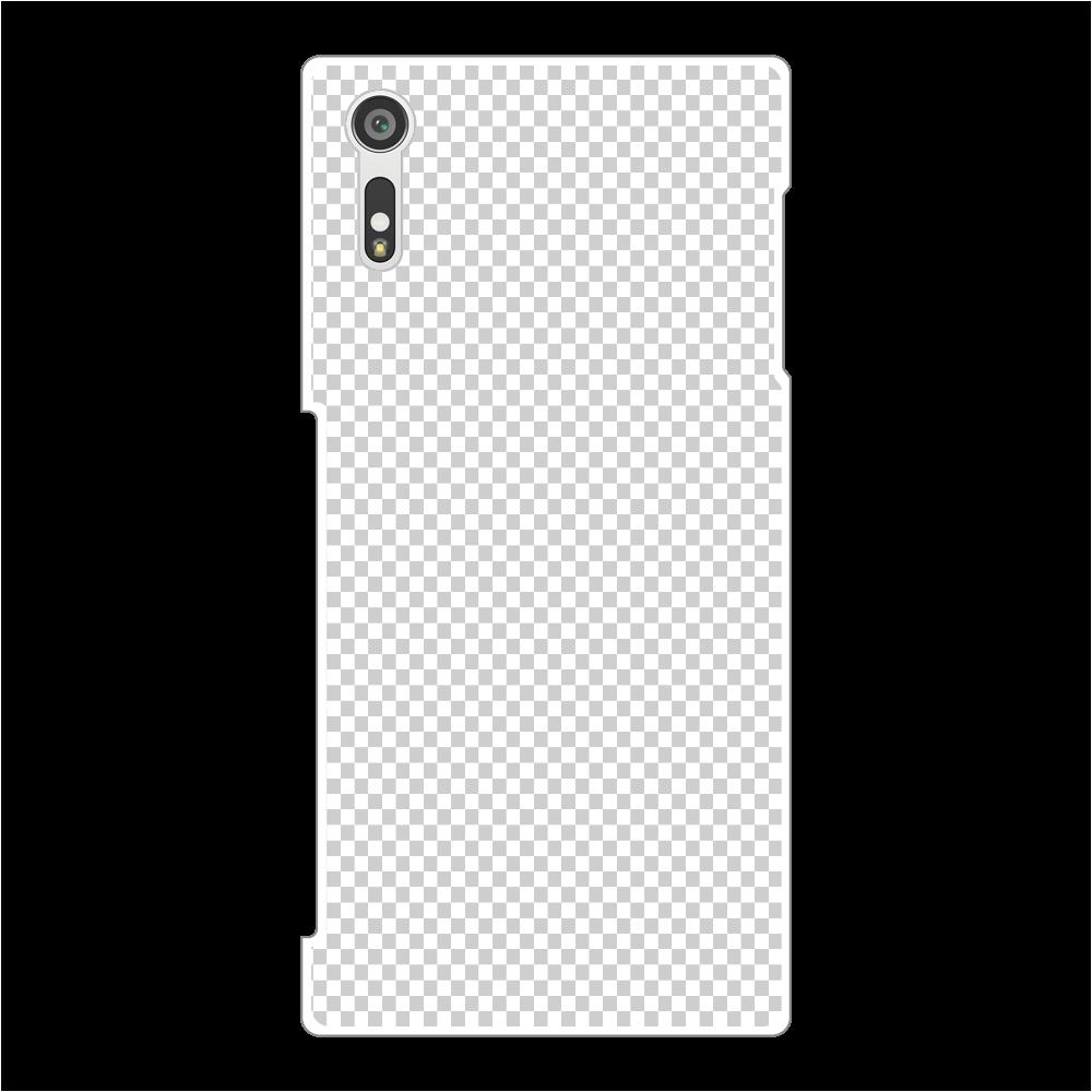 透過 Androidケース Xperia XZ/ XZs(SO-01J/SOV35) Xperia XZ/ XZs(SO-01J/SOV35)