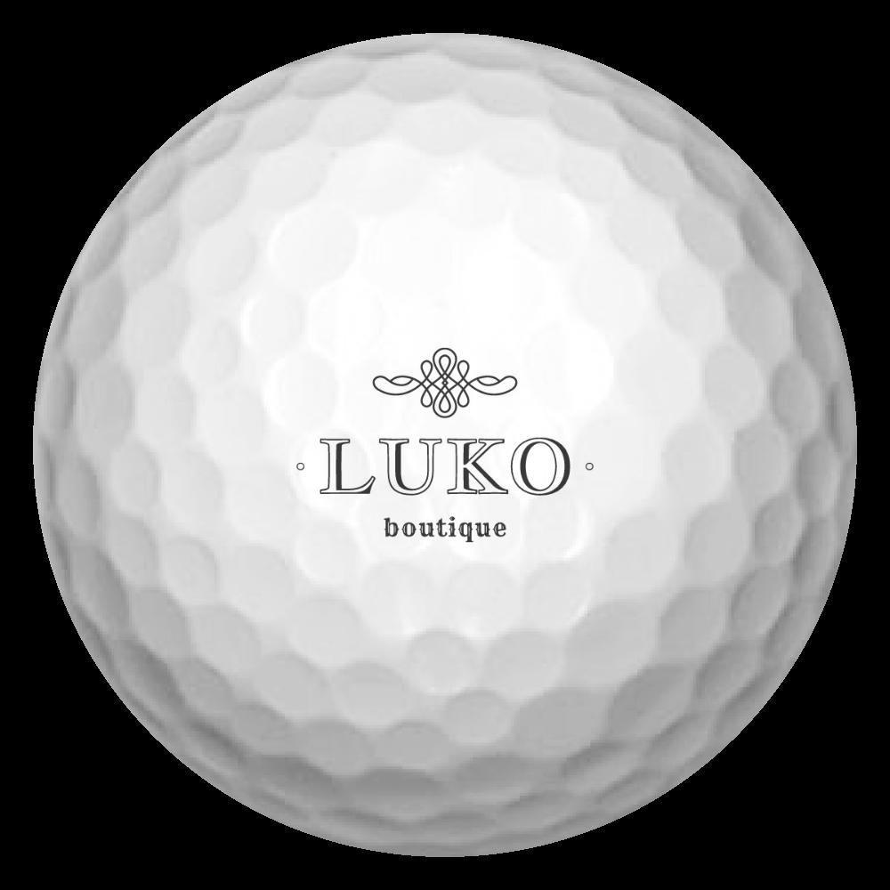 ブティックルコ ゴルフボール(3個セット) 白 ゴルフボール(3個セット)