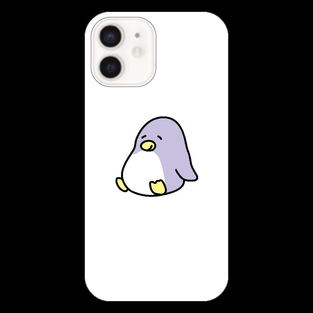 ペン太 iPhone12クリアケース(お座り) iPhone12(透明)