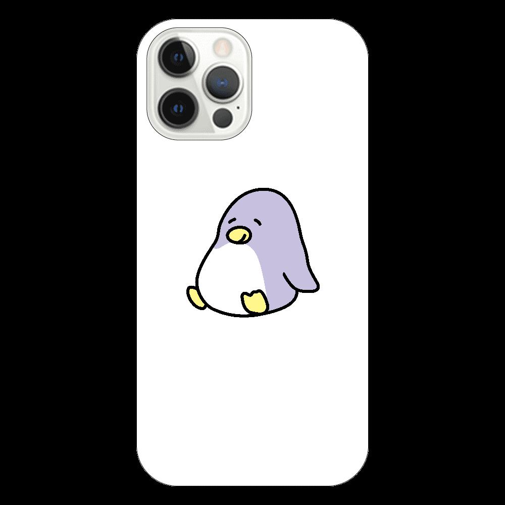 ペン太 iPhone12 Proクリアケース(お座り) iPhone12 Pro(透明)