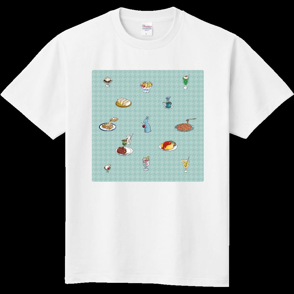 純喫茶ブルーラビット モチーフたくさん定番Tシャツ 定番Tシャツ