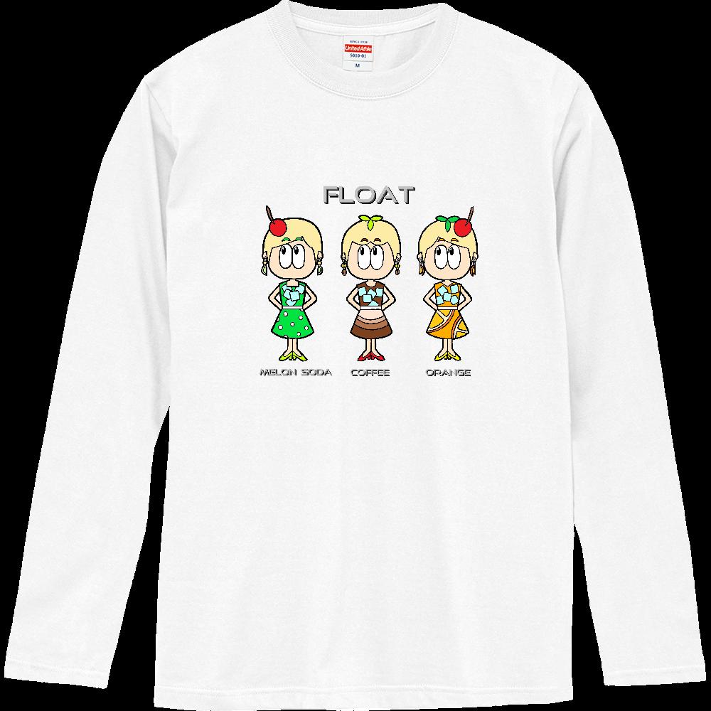 ドリンク/昭和レトロファッション ロングスリーブTシャツ