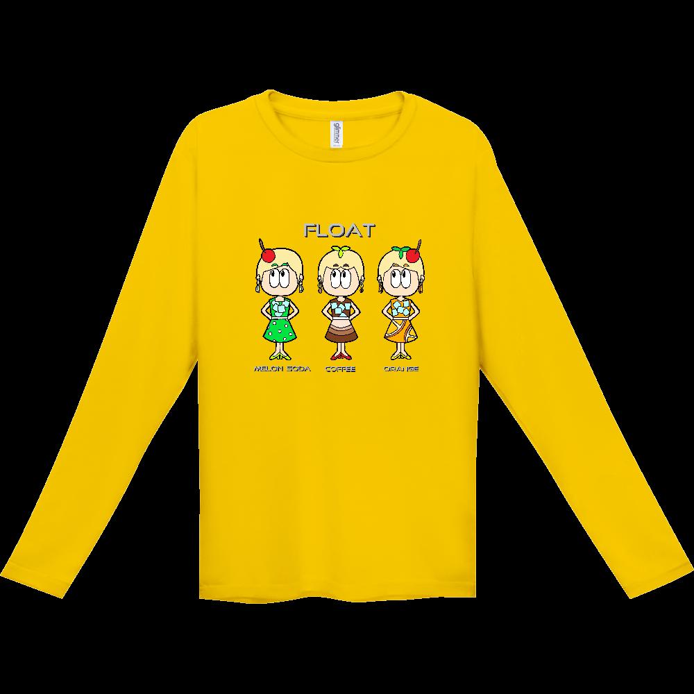 ドリンク/昭和レトロファッション インターロック ドライ長袖Tシャツ
