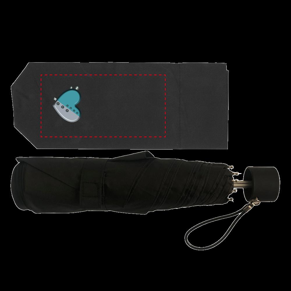 ハート 機械 耐風UV折りたたみ傘 耐風UV折りたたみ傘