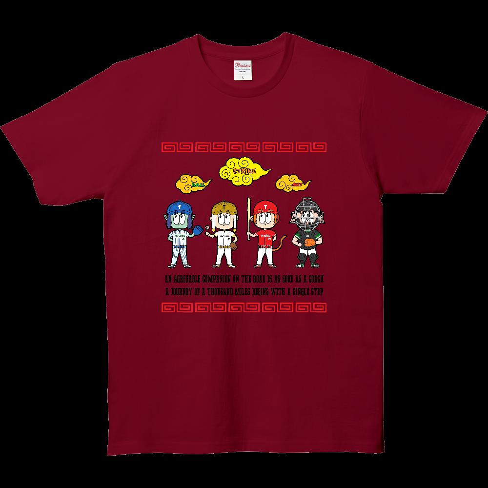 チーム天竺 ~西遊記×野球~ 5.0オンス ベーシックTシャツ