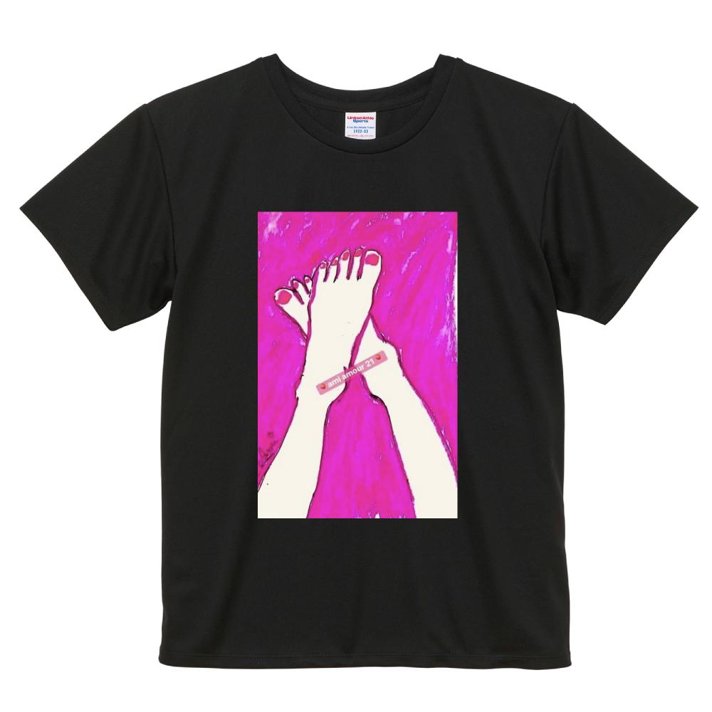 「恋するピンク」 ドライアスレチック Tシャツ〈ウィメンズ〉
