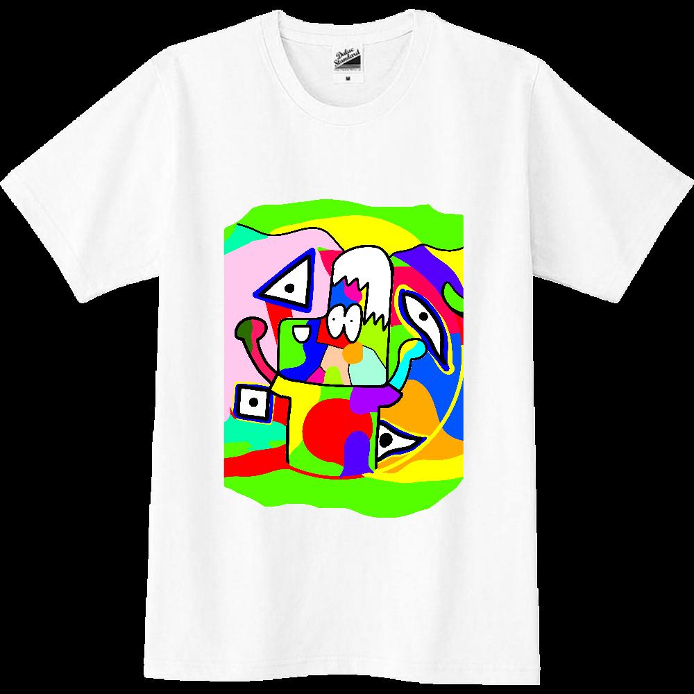カラフルデコポン スリムTシャツ