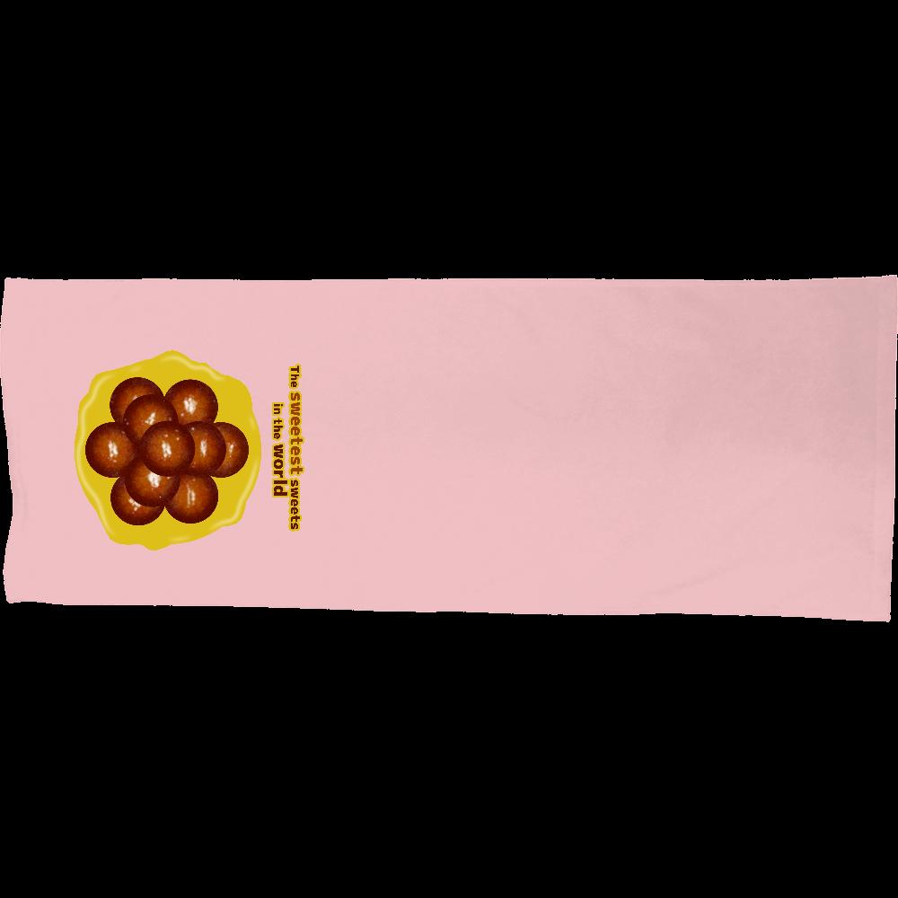 世界一甘いお菓子 シャーリングスポーツタオル シャーリングスポーツタオル