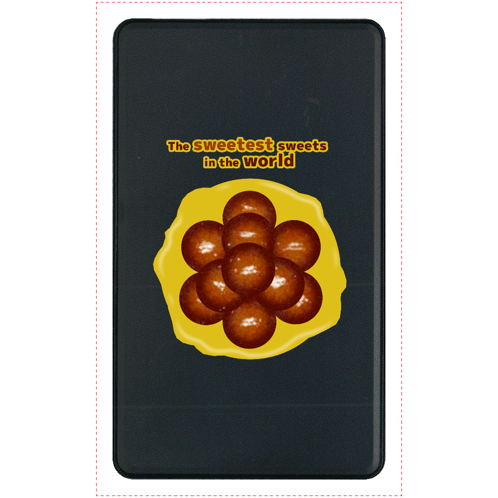 世界一甘いお菓子 マットタイプモバイルバッテリー(4000mAh) マットタイプモバイルバッテリー(4000mAh)