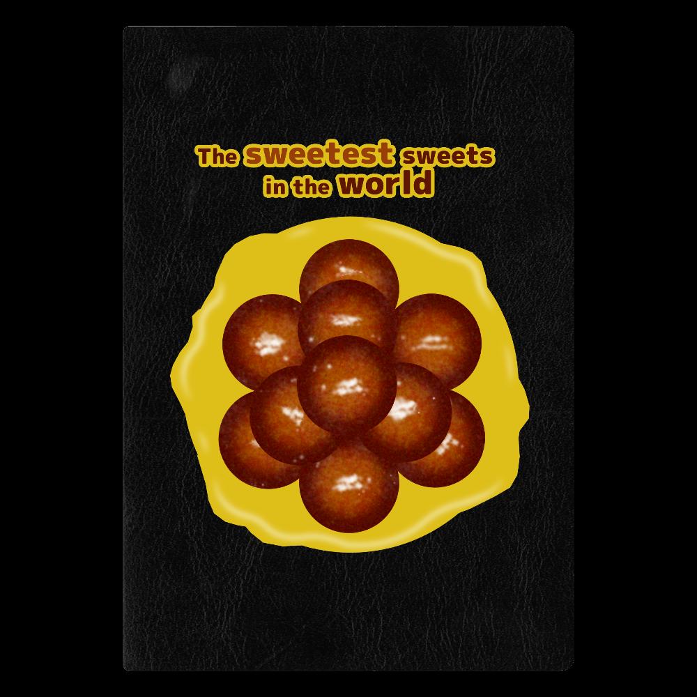 世界一甘いお菓子 ノート ソフトレザーノート