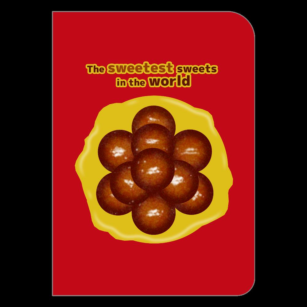 世界一甘いお菓子 ノート ハードカバーポケットノート