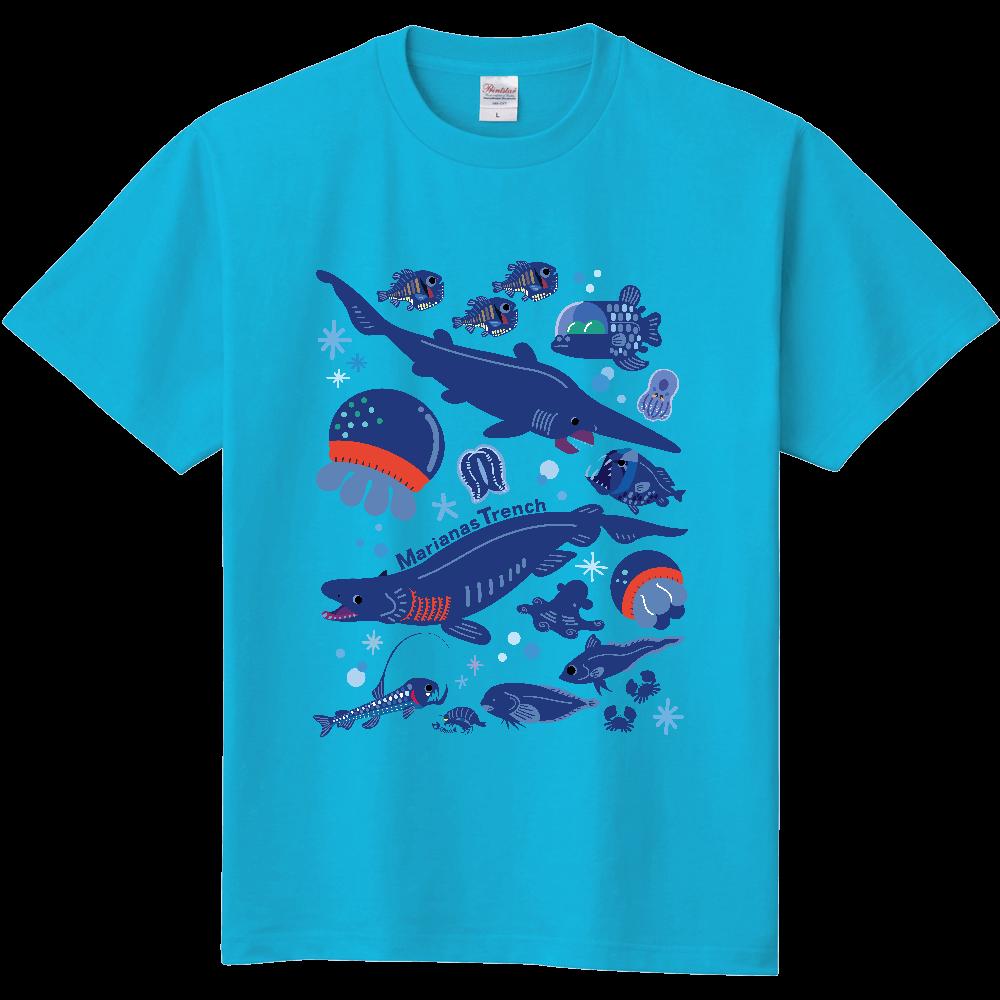 マリアナ海溝の深海生物 定番Tシャツ