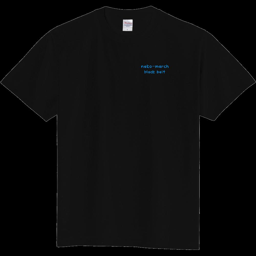 ねこまーち 黒帯シャツ 定番Tシャツ