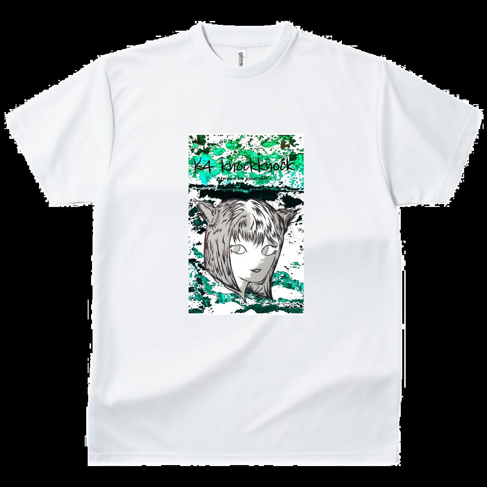 猫娘 ドライTシャツ