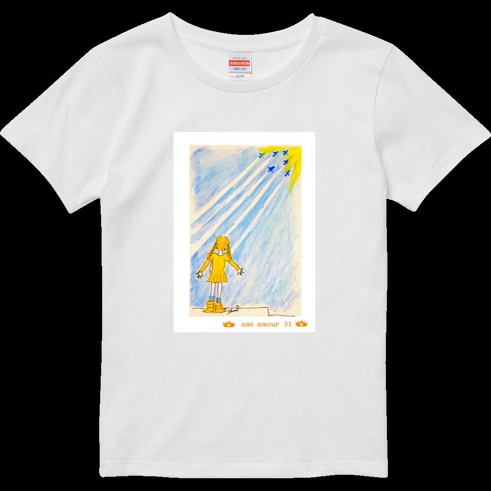 「ありがとう・A」レディースBタイプ ハイクオリティーTシャツ(ガールズ)
