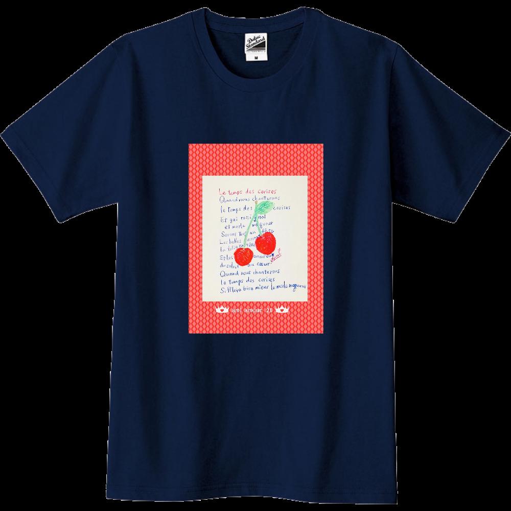 「桜んぼの実る頃」 スリムTシャツ
