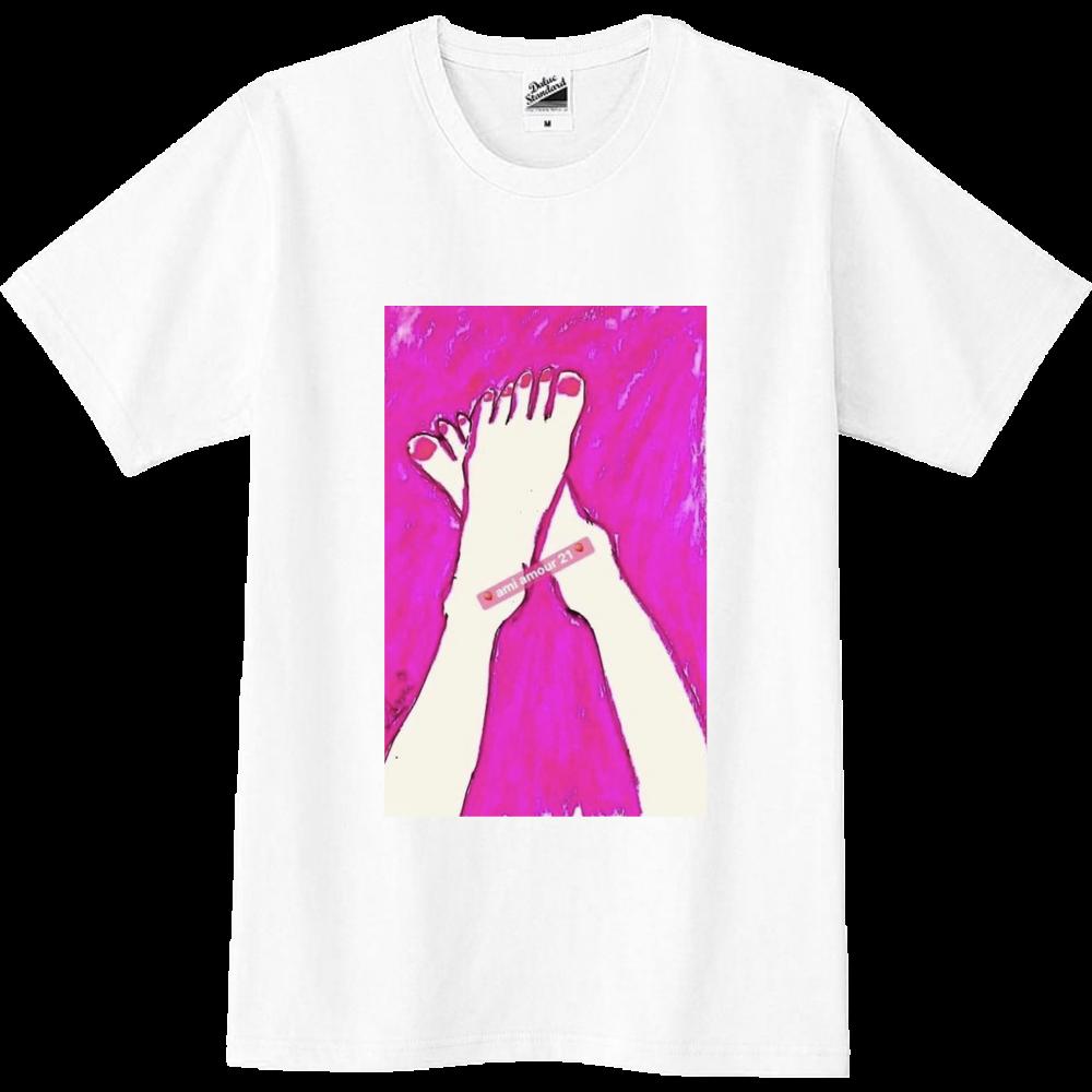「恋するピンク」男女兼用 スリムTシャツ スリムTシャツ