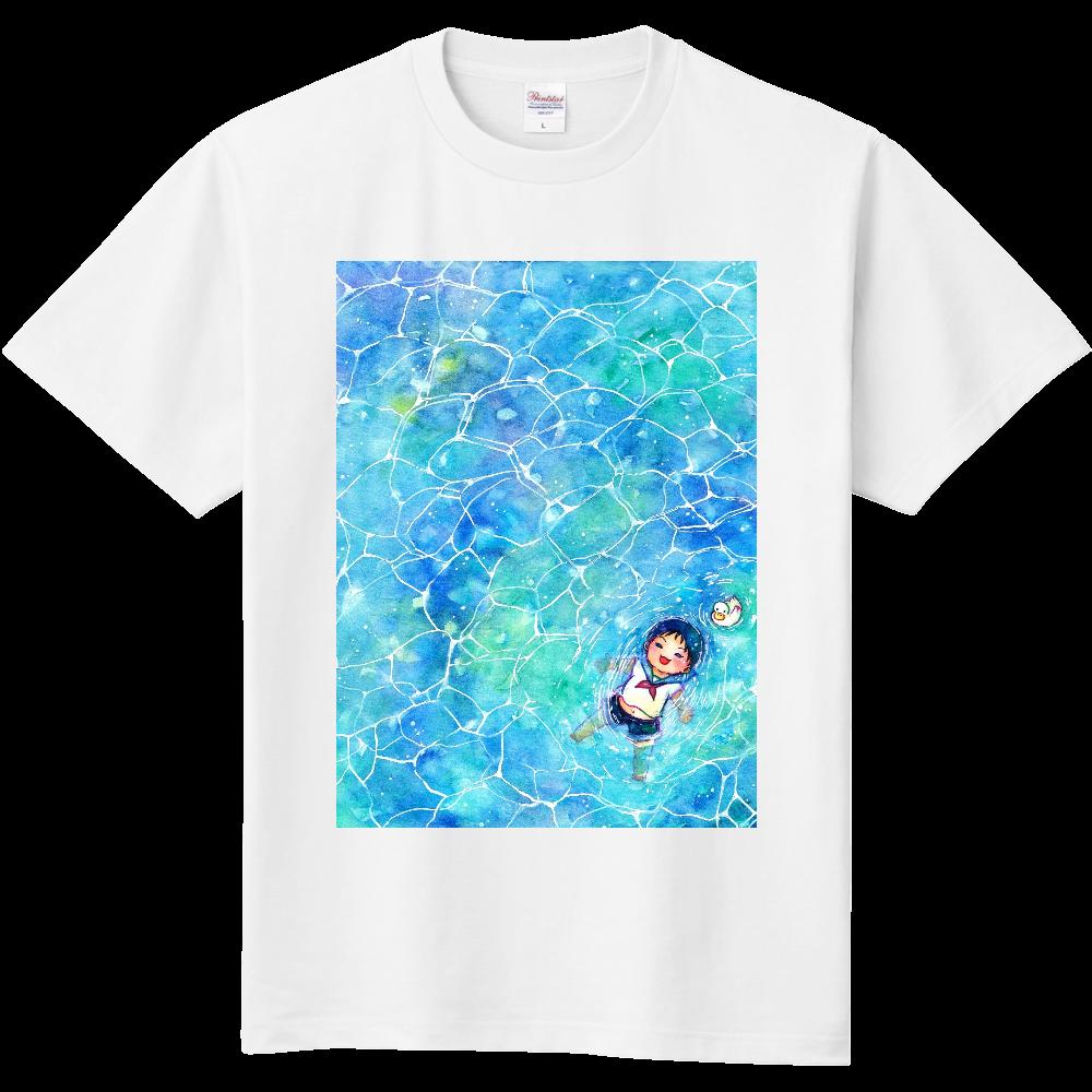 水面ぷかぷかTシャツ 定番Tシャツ