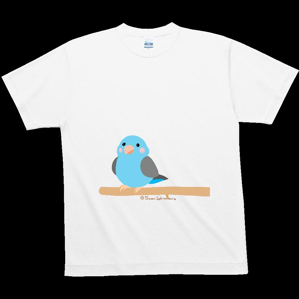 ポチャルリハインコ ハニカムメッシュTシャツ