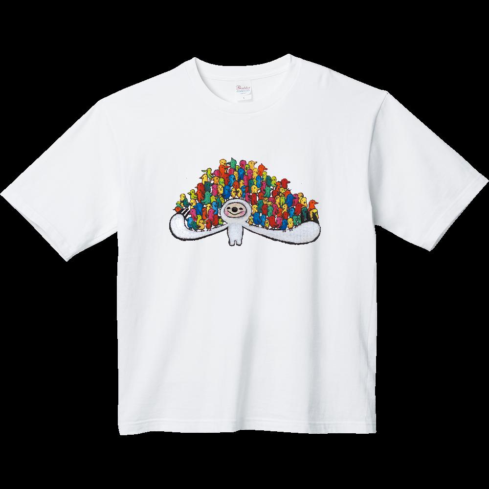 なまけものくん01 ヘビーウェイト ビッグシルエットTシャツ