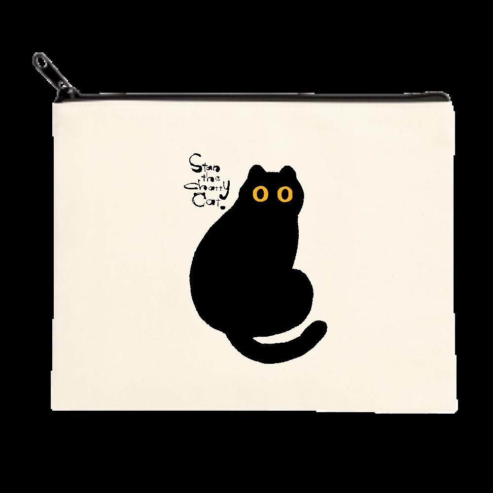 Stan The Chatty Cat -Hi- ポーチ(M)