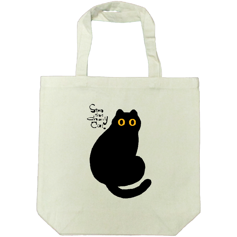 Stan The Chatty Cat -Hi- ライトキャンバストートバック(M)
