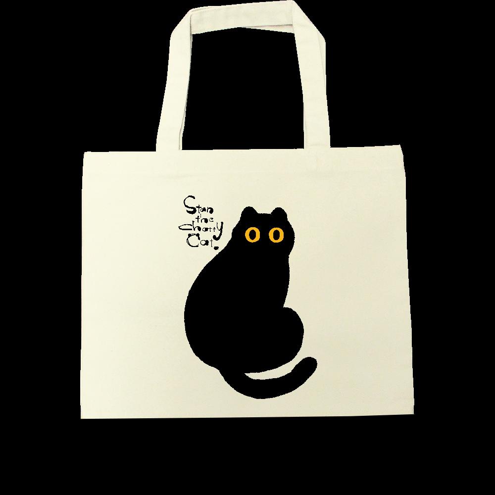 Stan The Chatty Cat -Hi- キャンバスツートントートバッグ(M)