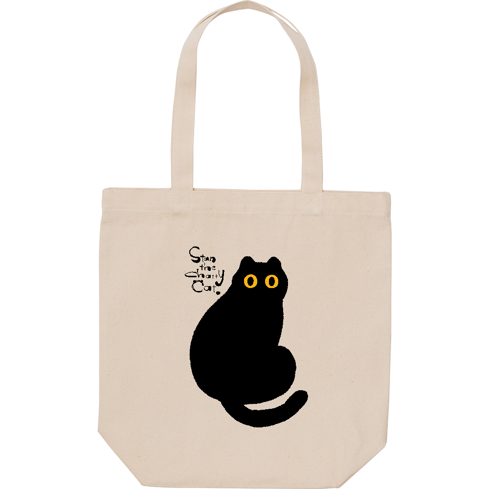 Stan The Chatty Cat -Hi- スタンダードキャンバストートバッグ(M)