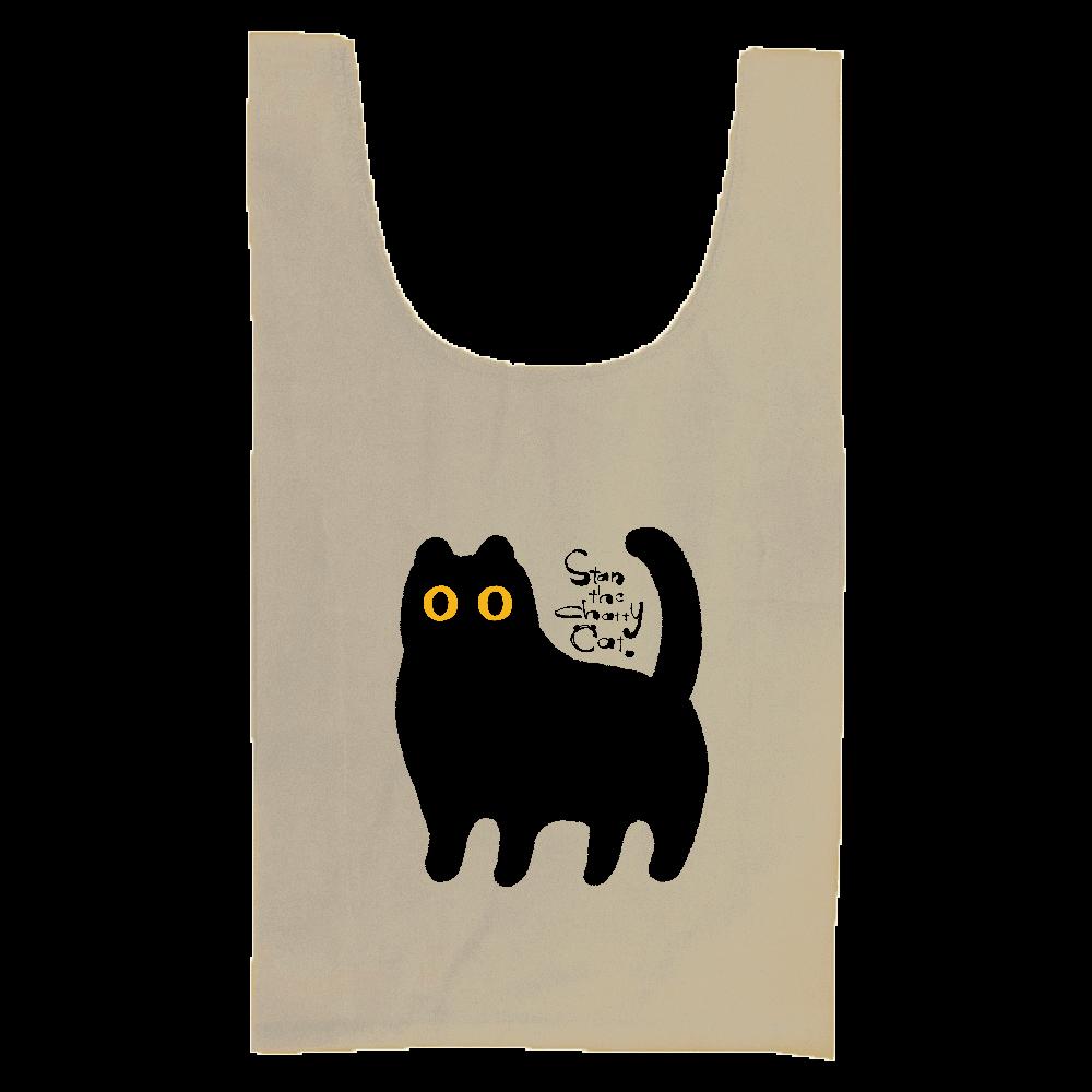 Stan The Chatty Cat -I'm Here- 厚手コットンマルシェバッグ(M)