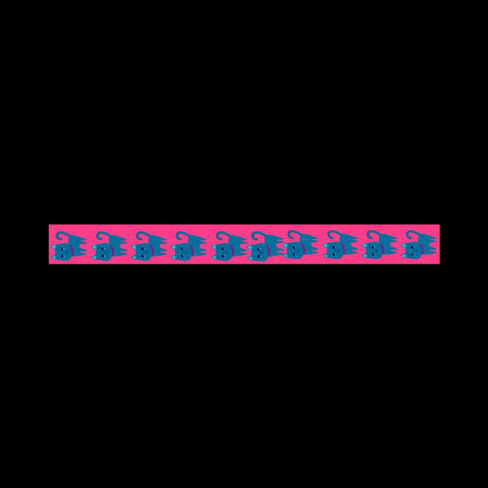 ViViVi Cat's -Kate The Noble Cat- Pink 20mmマスキングテープ