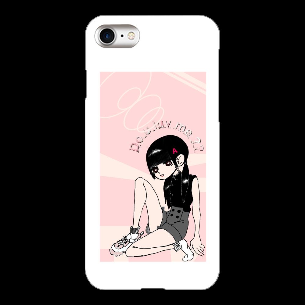 あちゃんスマホ iPhone8(白)