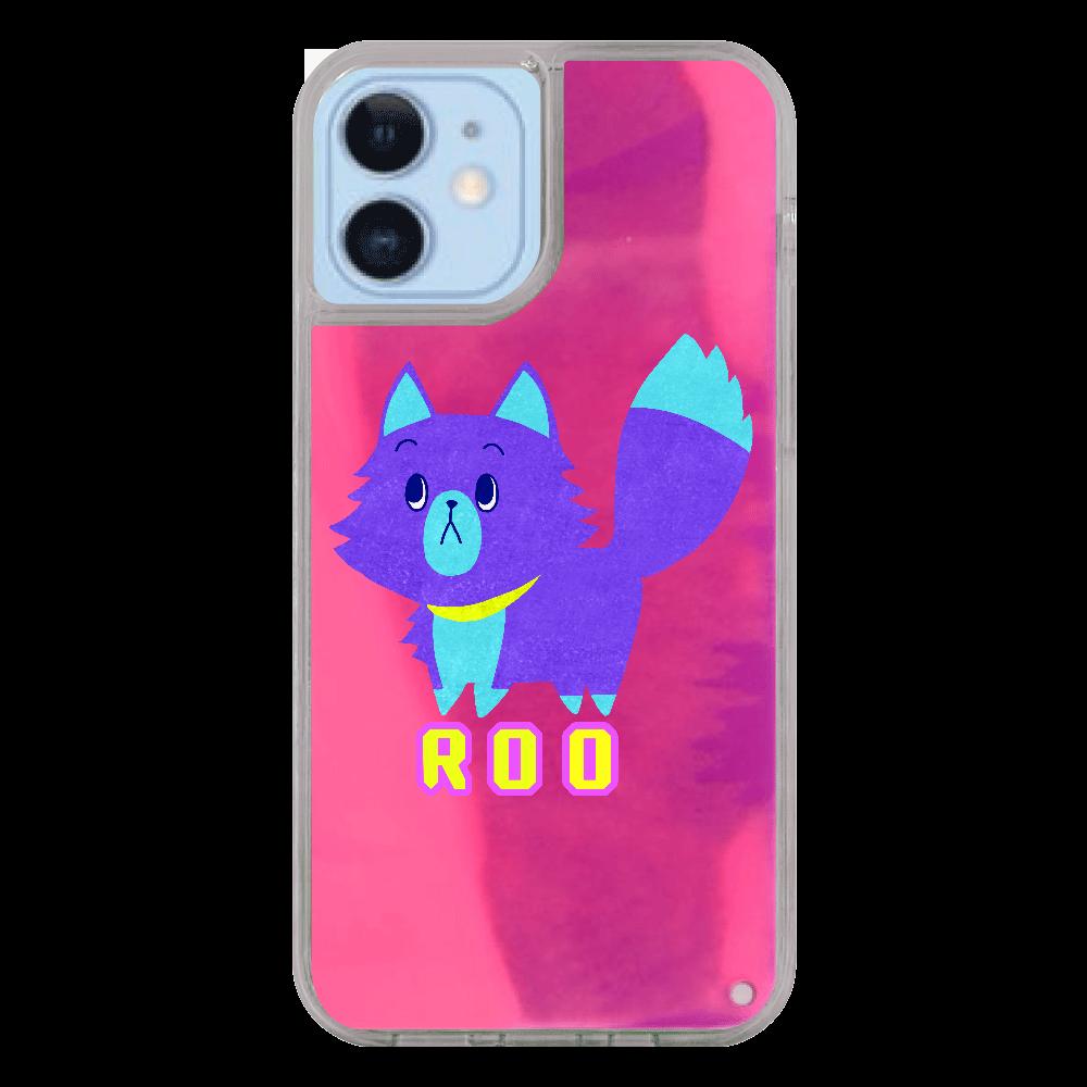 ViViVi Cat's -Roo The Gloomy Cat- iPhone12/12pro ネオンサンドケース