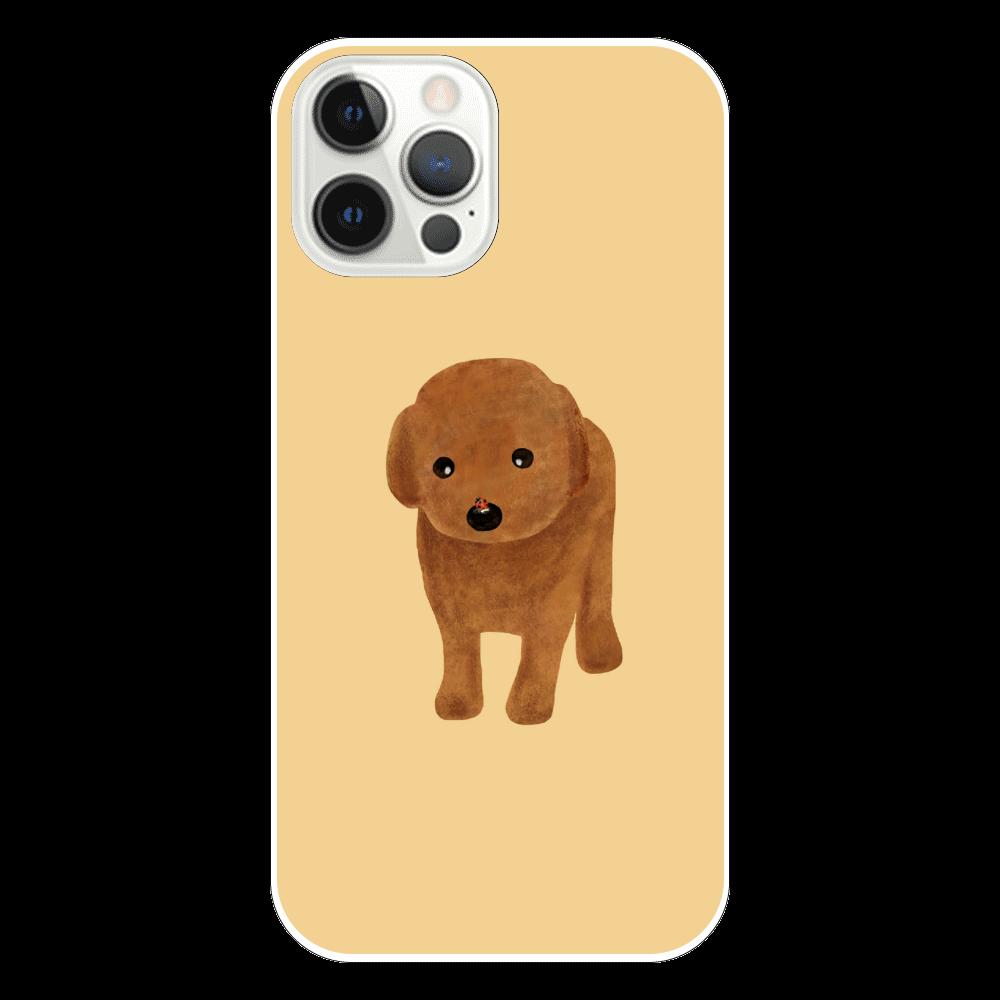 てんとう虫とわんこ iPhone12 Pro(透明)