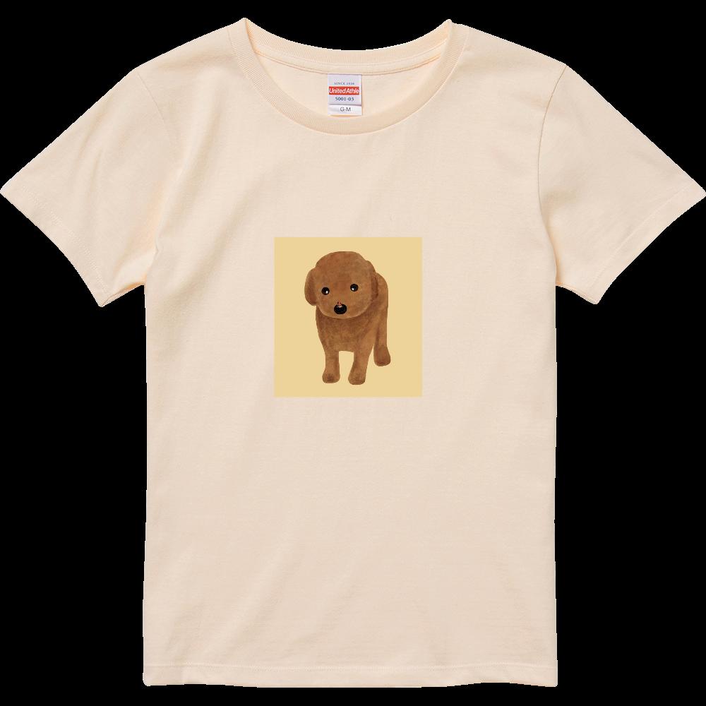 てんとう虫とわんこ ハイクオリティーTシャツ(ガールズ)