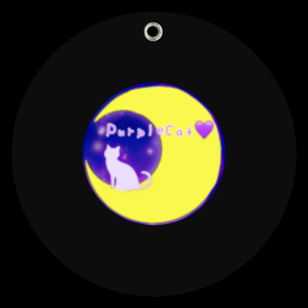 PurpleCatmoon♥ スライドアクリルミラー ラウンド